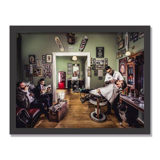 Quadro Decorativo Barbearia