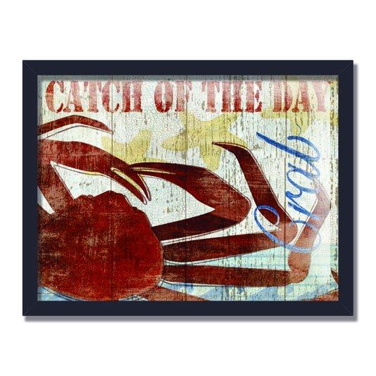 Quadro Decorativo Catch Of The Day