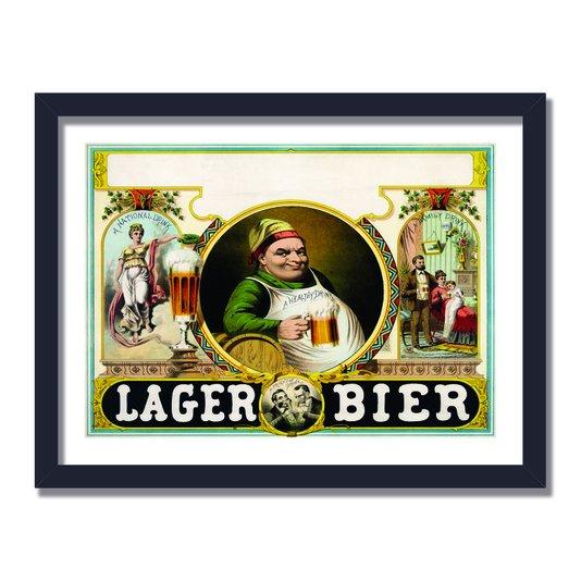 Quadro Decorativo Cerveja Lager Bier