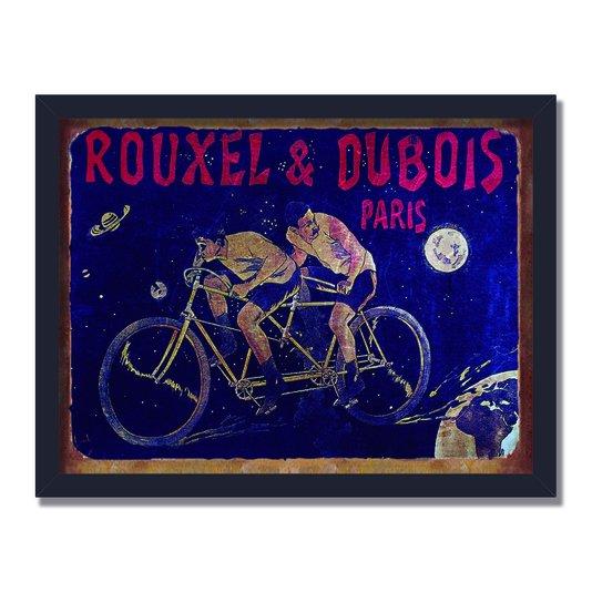 Quadro Decorativo Corrida de Bicicleta Rouxel & Dubois Paris