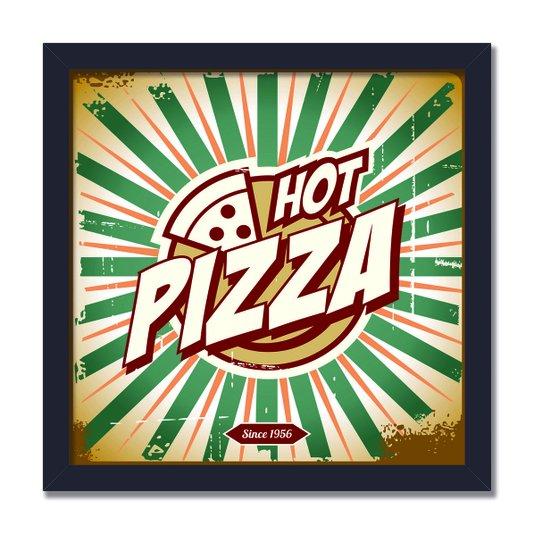 Quadro Decorativo Hot Pizza