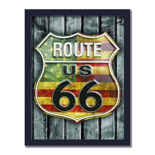Quadro Decorativo Route 66