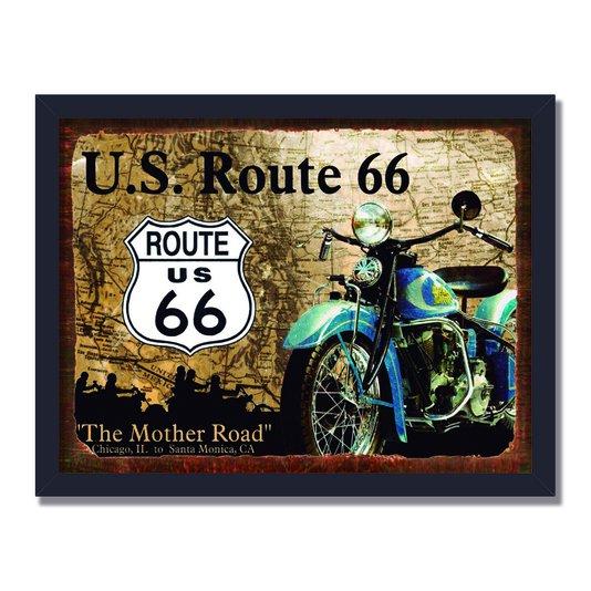 Quadro Decorativo Route U.S. Route 66