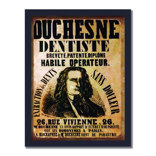 Quadro Decorativo Vintage Duchesne Dentiste