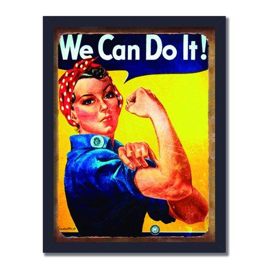 Quadro Decorativo We Can do IT!