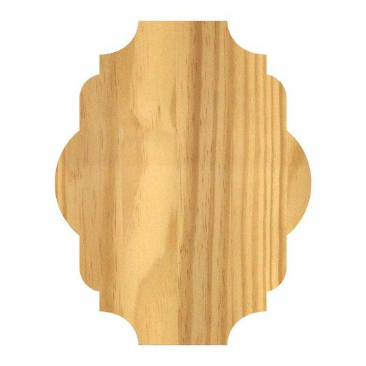 Tábua De Pinus Clear Para Placas Decorativas de Cozinha e Vintage