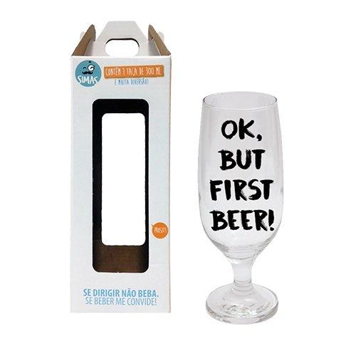 Taça De Cerveja First Beer - SIMAS