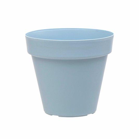 Vaso para Plantas 8x8cm - Azul Vintage