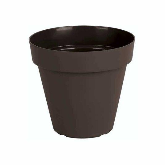 Vaso para Plantas 8x8cm - Marrom Taupe