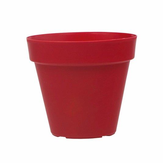 Vaso para Plantas 8x8cm - Vermelho