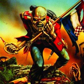 Placa Decorativa Banda Iron Maiden Caveira Heavy Metal