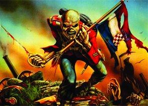 Placa Decorativa Eddie Iron Maiden