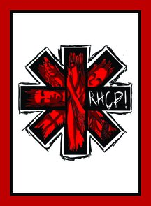 Placa Decorativa Red Hot Chili Peppers