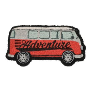 Capacho Tapete de Fibra de Coco Kombi Adventure - URBAN