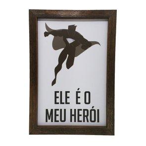 Kit Quadros com Porta Rolhas ou Tampinhas Pai Protetor, Amigo, Incrível, O Cara, Herói.