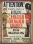 Placa Decorativa Attention! Canadian Grenadier Guards