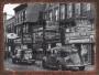 Placa Decorativa Foto Antiga Carros e Comércio