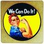 Porta Copo em MDF We Can do It!
