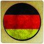 Porta Copo em MDF Bandeira da Alemanhã