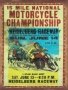 Placa Decorativa 15 Mile National Motorcycle Championship