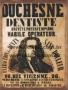 Placa Decorativa Publicidade Antiga Duchesne Dentiste