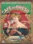 Placa Decorativa Publicidade Antiga Café du Brésil