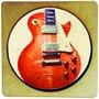 Porta Copo em MDF Orange Guitarra