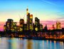 Placa Decorativa Edifícios Frankfurt Alemanha