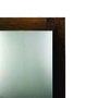 Espelho Rústico Decorativo com Fundo Falso em Madeira Eucalipto e fundo MDF/HDF