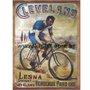 Placa Decorativa Bicicleta Cleveland