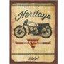 Placa Decorativa Moto Heritage