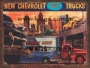 Placa Decorativo Vintage New Chevrolet Trucks