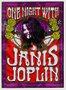 Placa Decorativa Poster on Night With  Janis Joplin