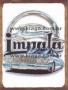 Placa Decorativa Carro Impala