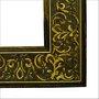 Moldura Para Espelho e Quadros  Decorativos em Pinus com Gravação em Gesso