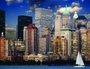 Placa Decorativa Edifícios New York