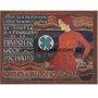 Placa Decorativa Vintage Cycles & Automobiles