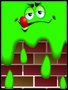 Placa Decorativa Infantil Amoeba Verde