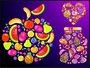 Placa Decorativa Frutas
