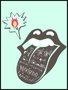 Placa Decorativa Boca - Língua