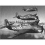 Placa Decorativa Aviões de Guerra