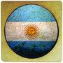 Porta Copo em MDF Bandeira da Argentina