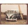 Placa Decorativa Vintage Kombi com Prancha