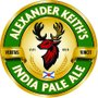 Placa Decorativa Redonda Alexander Keith's India Pale Ale