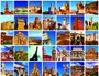 Placa Decorativa Cidades Turísticas
