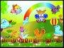 Placa Decorativa Infantil Focas e Seus Amigos