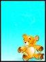 Placa Decorativa Infantil Urso Amarelo