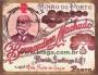 Placa Decorativa Publicidade Antiga Vinho do Porto Bernardino Machado