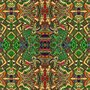 Placa Decorativa Desenhos Coloridos e Abstratos