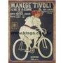 Placa Decorativa Bicicleta Manège Tivoli